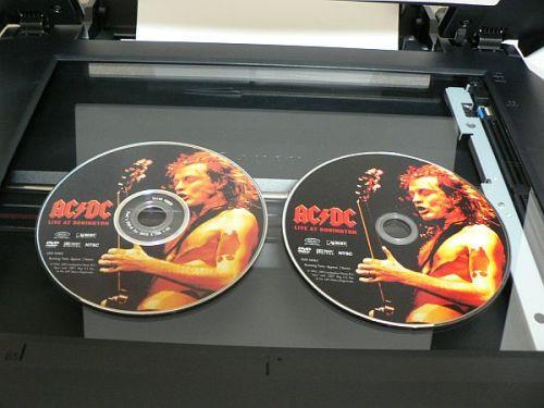 DVDラベル レーベル印刷方法